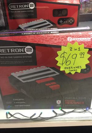 Retron 2 snes and nes system 2 in 1 for Sale in Tampa, FL