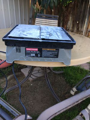 "7"" Tile Wet Saw for Sale in Bakersfield, CA"