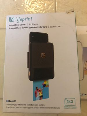 LifePrint for instant print camera for iPhone for Sale in Honolulu, HI