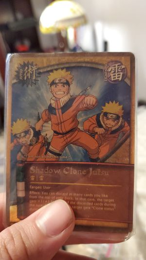 Naruto cards for sale for Sale in Reedley, CA