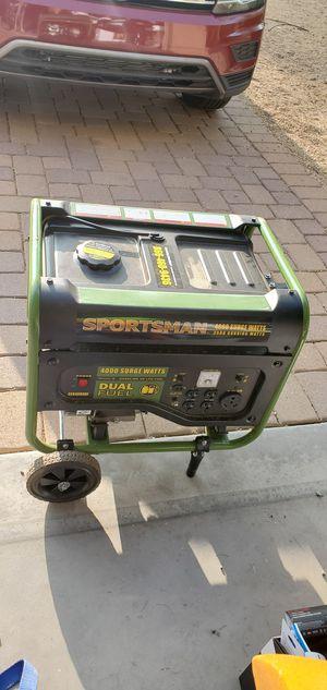 Sportsman 3500/4000 Dual Fuel Generator for Sale in Phoenix, AZ