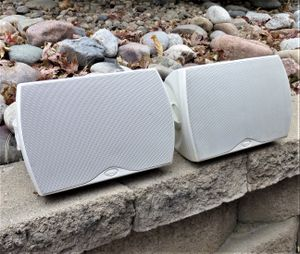 Klipsch Indoor/Outdoor Pro Speakers With Brackets for Sale in Aurora, CO