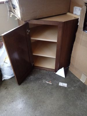 Corner shelf cabinet for Sale in Goshen, IN