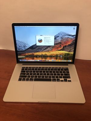 "Apple 15"" MacBook Pro Quad Core i7 16gb RAM 512gb Flash Dual Graphics High Sierra for Sale in Chicago, IL"