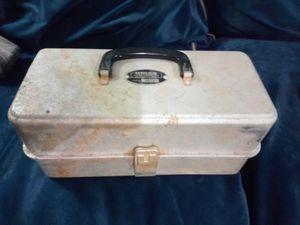 Vintage takle box for Sale in Columbia, LA