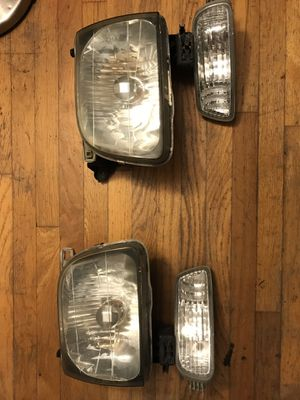 2001-2004 original Tacoma headlights and lower lights for Sale in Orange, CA
