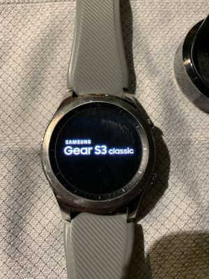 Samsung Gear S3 classic watch for Sale in Vancouver, WA