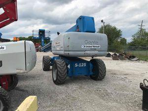 2012 genie S-125 telescopic boom lift for Sale in Chicago, IL