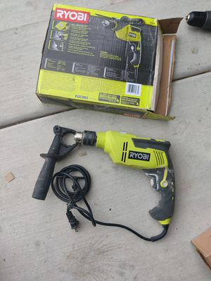 RYOBI 6.2 Amp Corded 5/8 in. Variable Speed Hammer Drill for Sale in Oceanside, CA