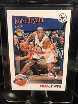 Panini NBA Hoops Kobe Bryant Basketball Card - Lakers Jersey 24 Collectibles - PSA Beckett BGS 9 or 10 GEM MINT ? - $12 OBO for Sale in Carlsbad, CA