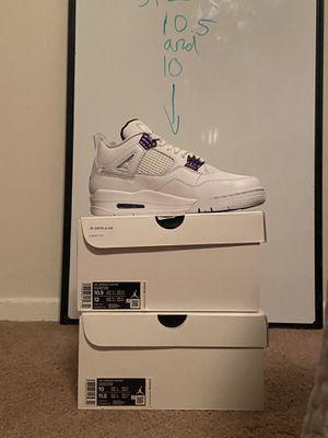Air Jordan's retro 4 for Sale in Arlington, VA