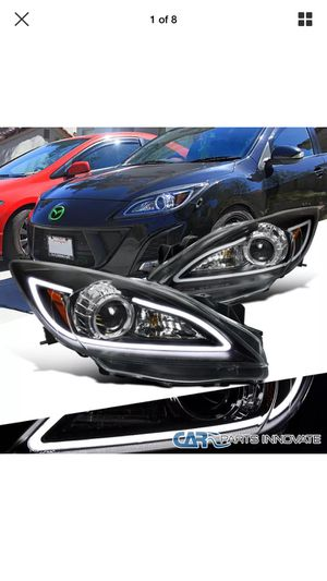 10-13 Mazda 3 led headlights for Sale in La Puente, CA