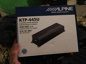 Alpine amp for Sale in Mount Oliver, PA