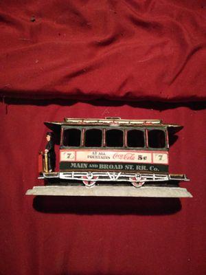Coca-Cola train antique 40 bucks for Sale in Cedar Rapids, IA