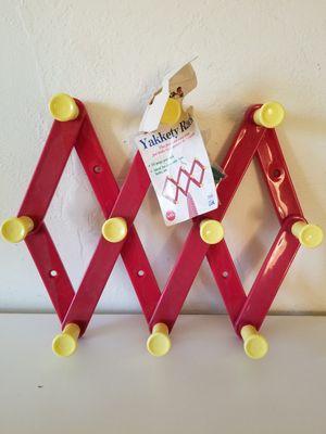 Yakkety Rack Organizer Accordian Hanging Clothing Coat Rack Kids Room for Sale in Bloomington, CA