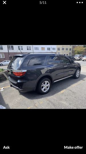 Dodge Durango 2013 AWD 3rd row SEAT FOLL options clean TITLE BRAND NEW TAIRE VERY GOOD SUSPENTION DMV INSPECTION PASS BUDY AND AUNDERER VERY NICE AN for Sale in Brooklyn, NY