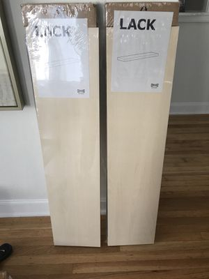 Two Brand New, In Box IKEA Lack Shelves for Sale in San Francisco, CA