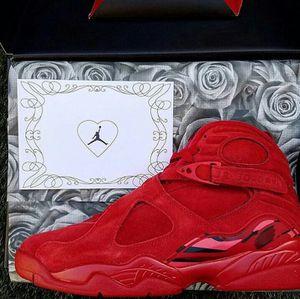 Valentine's day jordan 8 for Sale in Roanoke, VA