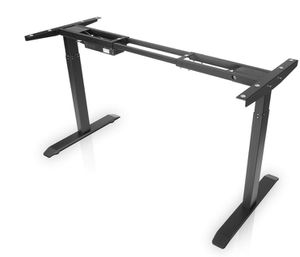 Brand New Seal In Box (Frame Only) Electric Stand up Desk Frame Dual Motor and Cable Management Rack Height Adjustable Sit Stand Standing Desk Base W for Sale in Hayward, CA