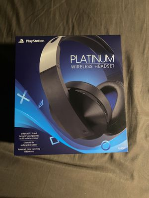 Sony Platinum Wireless Headset for Sale in Corona, CA