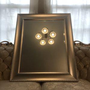 Silver framed mirror for Sale in Burbank, CA