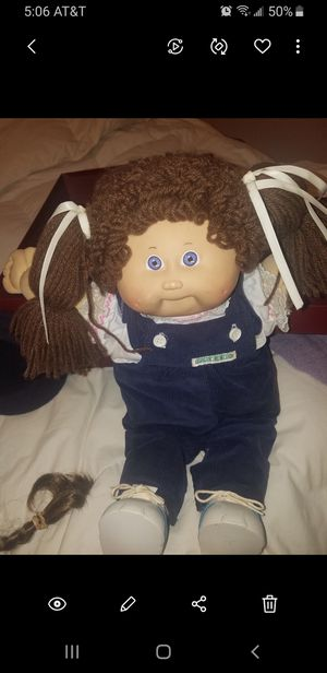 Authentic original cabbage patch doll signed one owner for Sale in Aventura, FL