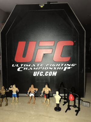 UFC Octagon fight ring. MMA fighters, gym equipment too! Perfect for big or little boys. for Sale in Henderson, NV