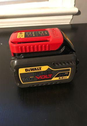 Dewalt 60v battery for Sale in Arlington, VA