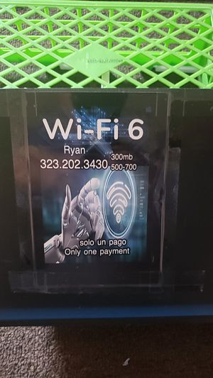Internet wifi Modem Router for Sale in Los Angeles, CA