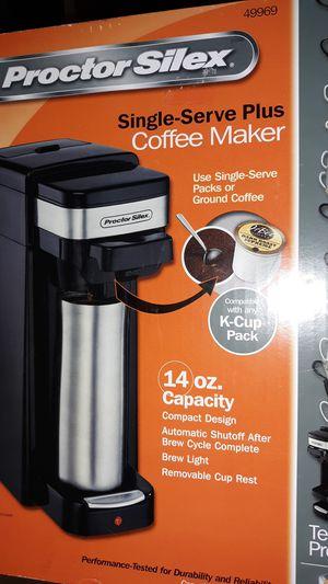 Proctor silex single serve coffee maker brand new for Sale in Ontario, CA