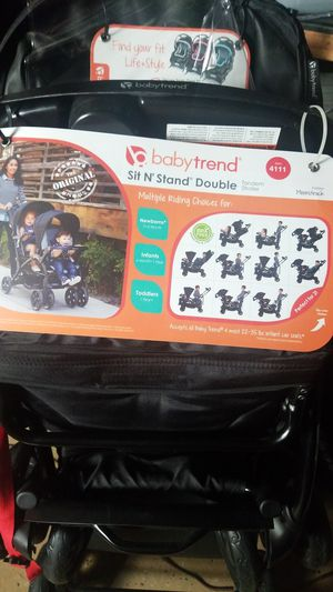 New! Baby Trend: Baby Sit and Stand Double Stroller for Sale in Baltimore, MD
