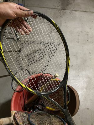 Assorted Tennis Rackets for Sale in Victorville, CA