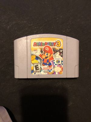 Mario party 3 for Sale in Fort Worth, TX