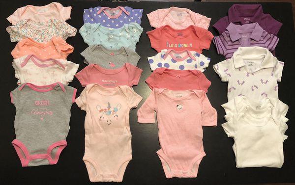 Baby Girl Clothes Premie-Newborn