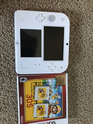 Nintendo 2DS with two super Mario makers for Sale in Riverside, CA