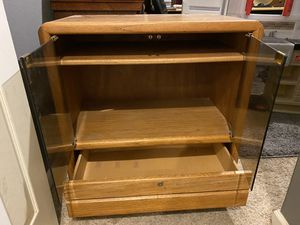 FREE - TV stand with bottom drawer for Sale in Cornelius, OR