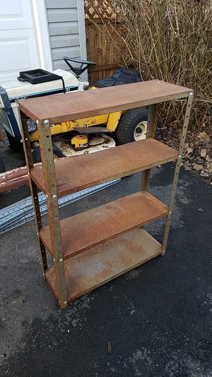 Small Metal Shelving Unit for Sale in Cary, IL