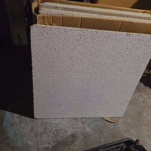 I have 15 white 2x2 ceiling tiles make offer good condition for Sale in Chicago, IL