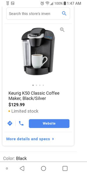KEURIG COFFEE MAKER MUST PICK UP for Sale in Washington, DC