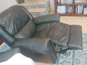 Faux leather lazy boy recliner chair sofa for Sale in Los Angeles, CA