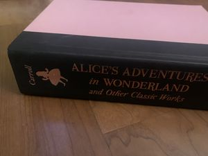 Alice's adventures in wonderland and other classic works book for Sale in Vista, CA