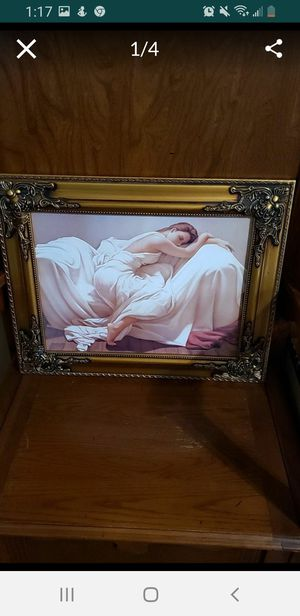 """Ornate Framed Wall Painting, 16"""" by 20"""" for Sale in Bakersfield, CA"""