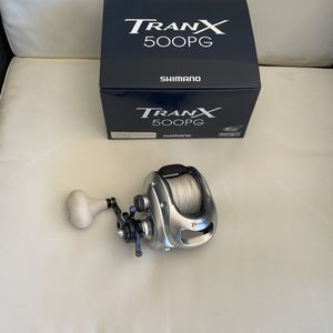 Shimano Tranx 500 PG Fishing Reel With Braid for Sale in San Diego, CA
