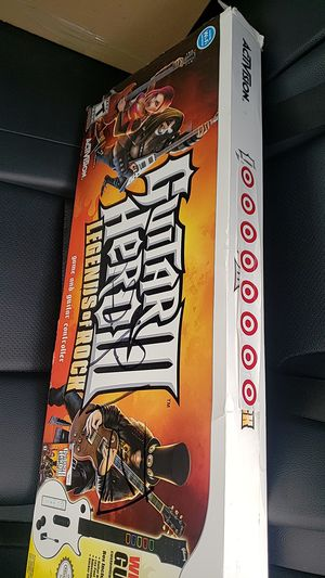 guitar hero Wii Legends of Rock for Sale in Arlington Heights, IL