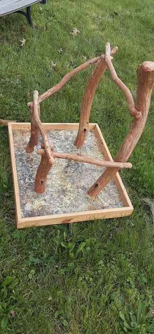 Parrot play area/tree with tray for Sale in St. Louis, MO