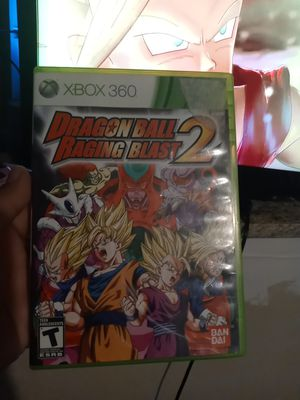 Complete Dragon ball raging blast 2 for XBOX 360 OR XBOX ONE for Sale in San Antonio, TX