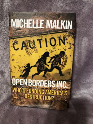 New- Hard Cover Open Borders INC for Sale in Northampton, PA