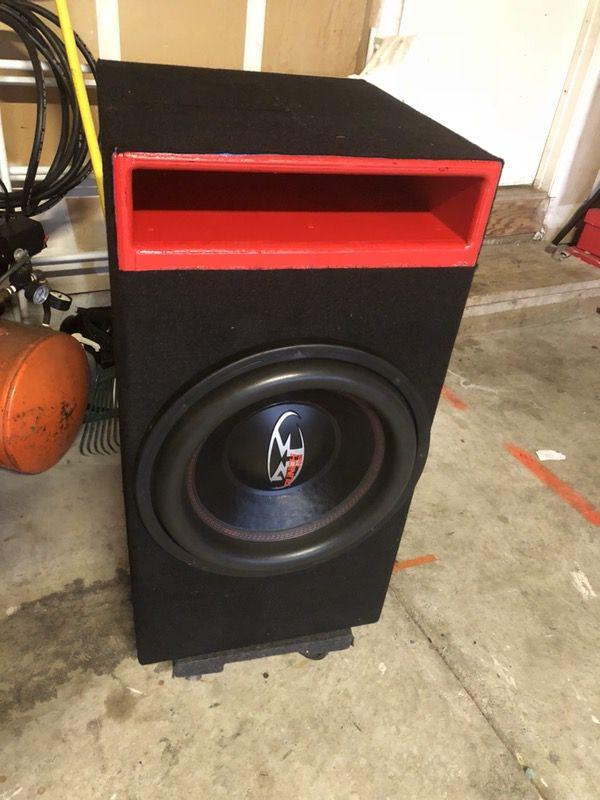"Rockford Fosgate punch HX2 15"" in custom ported box for Sale in Sacramento,  CA - OfferUp"