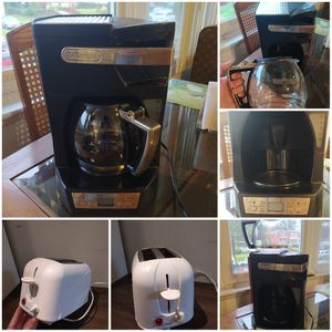 Appliances - COFFEE MACHINE + TOASTER for Sale in Silver Spring, MD