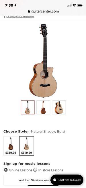 Alvarez LJ2CE Artist Little Jumbo Acoustic-Electric Guitar Gloss Natural for Sale in Los Angeles, CA